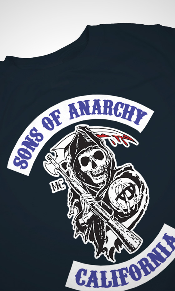 Sons Of Anarchy Womens T Shirt